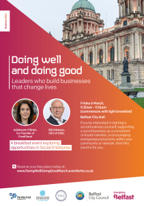 Doing Well & Doing Good Event Visual