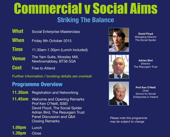 Commercial v Social Aims