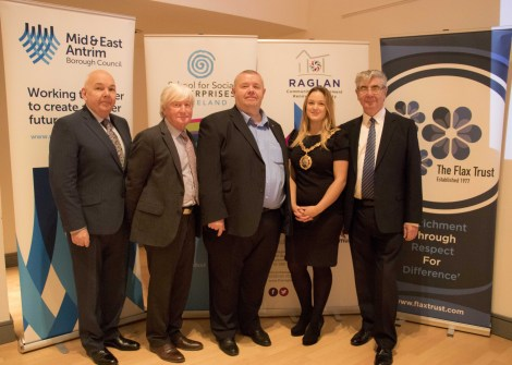 Brian Tannerhill MBE Inspires Social Entrepreneurs in Ballymena